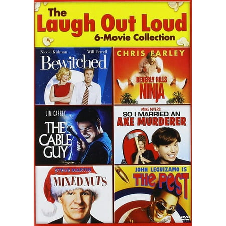 Adult Movie Nurse (The Laugh Out Loud 6-Movie Collection: Bewitched (2005) / Beverly Hills Ninja / The Cable Guy / So I Married An Axe Murderer / Mixed Nuts / The)