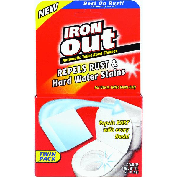 Iron Out Automatic Toilet Bowl Cleaner, 2.5 oz