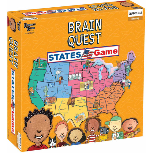 Brain Quest, States Game