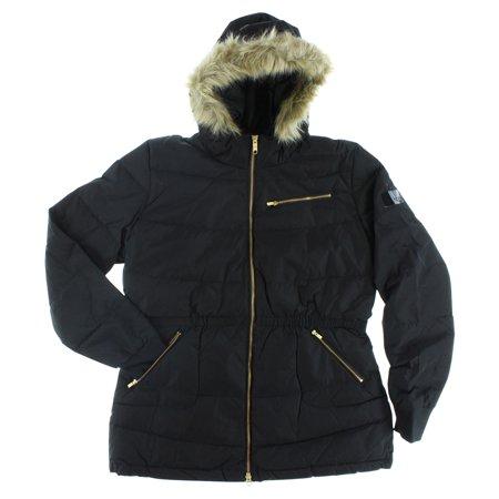 Adidas Womens Long Down Coat Black ()