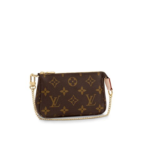 Louis Vuitton Monogram Canvas Mini Pochette Accessoires M58009 (Louis Vuitton New Monogram)