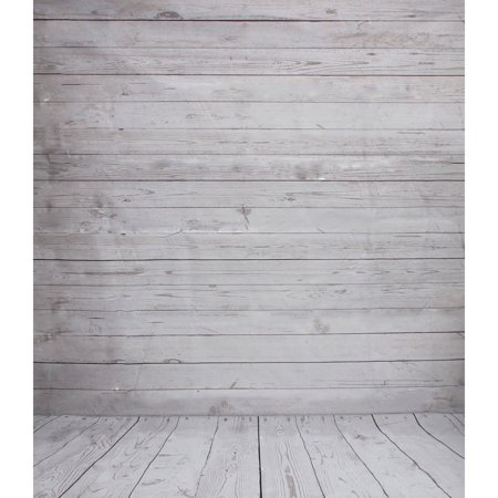 5 x 7FT Christmas Wood Wall Floor Photography Background Vinyl Fabric Photo Lighting Studio Props Photo Booth Backdrop - Photo Booth Background