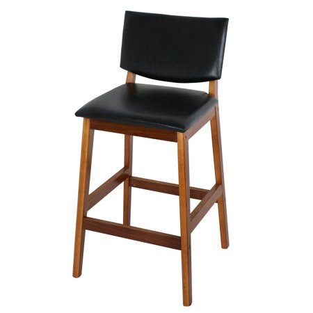 Incredible Gizmo Supply Counter Height Side Chair Seat Bar Kitchen Stool Modern Black Pu Leather Padded Creativecarmelina Interior Chair Design Creativecarmelinacom