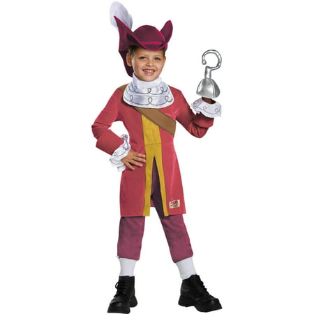 Captain Hook Deluxe Child Halloween Costume - Deluxe Captain Hook Costume