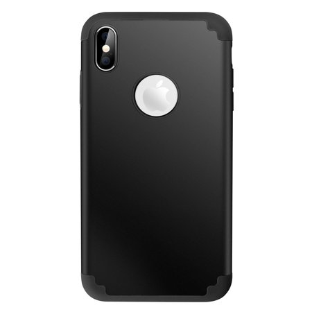 Oem Orange Silicone (2 in 1 Case Shockproof Cover Skin Silicone Soft Case For iPhone X/XS/XR/XS Max )