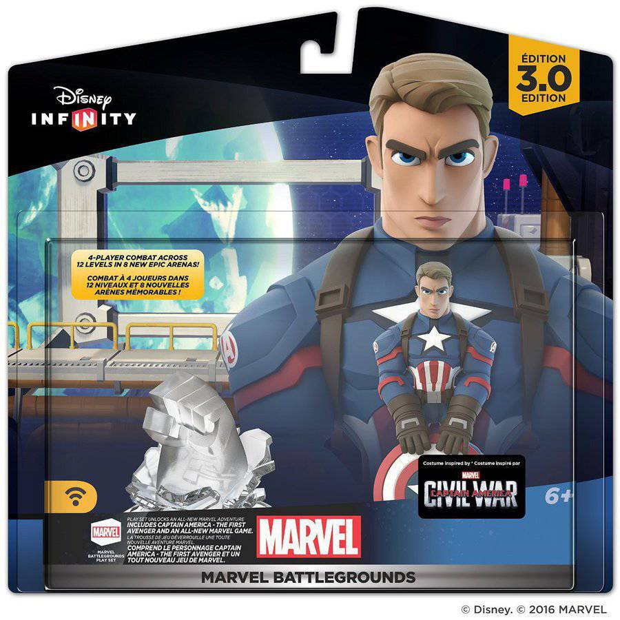 Disney Infinity 3.0 MARVEL Battlegrounds Playset (Universal) by Disney