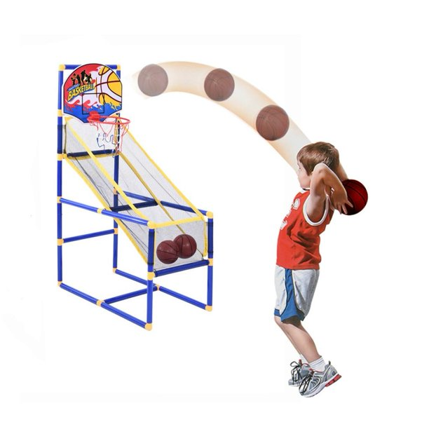 Brakites Basketball Hoop Game by BasKetBall Basement Toys Basketball Hoop for Kids Basketball Game with Hoop Training System Kids Indoor Sports Toys Fun and Entertaining