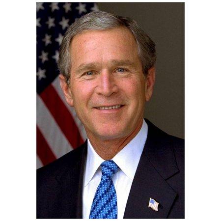 President George W. Bush Historical Photo Print Poster - 13x19