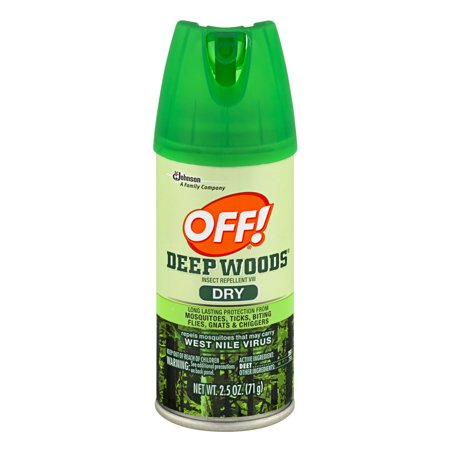 Off  Deep Woods Insect Repellent Viii Dry 2 5 Ounces
