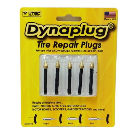 (Dynaplug 1014 Tire Repair Refill Plug - Pack of 5, Made in USA)