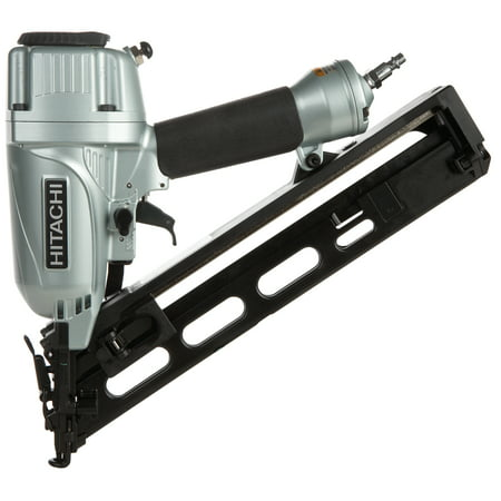 Metabo HPT 2-1/2-Inch 15-Gauge Angled Finish Nailer With Air Duster, NT65MA4M