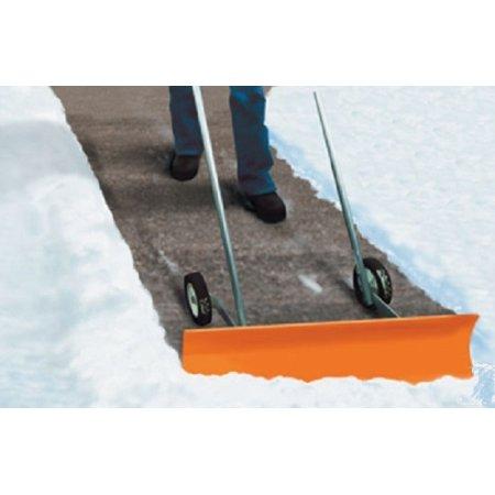 - Dakota SnoBlade Snow Removal Push Shovel on Wheels