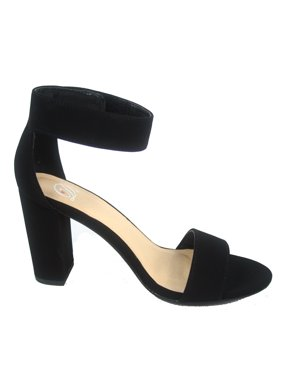 023933dd08ab Product Image Elton-s Open Toe Ankle Chunky Heels Sandals