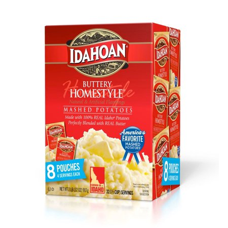 Product of Idahoan Buttery Homestyle Mashed Potatoes, 8 pk. [Biz Discount]