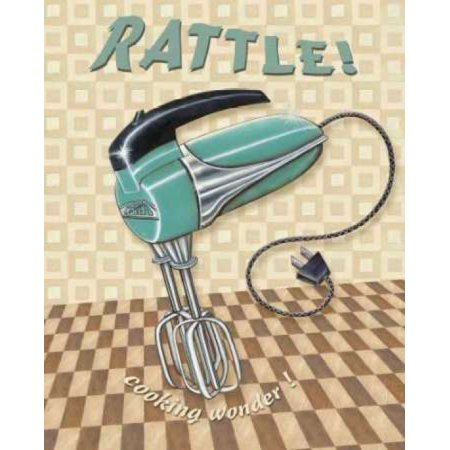 Nifty Fifties - Rattle Poster Print by Charlene Audrey - Fifties Theme