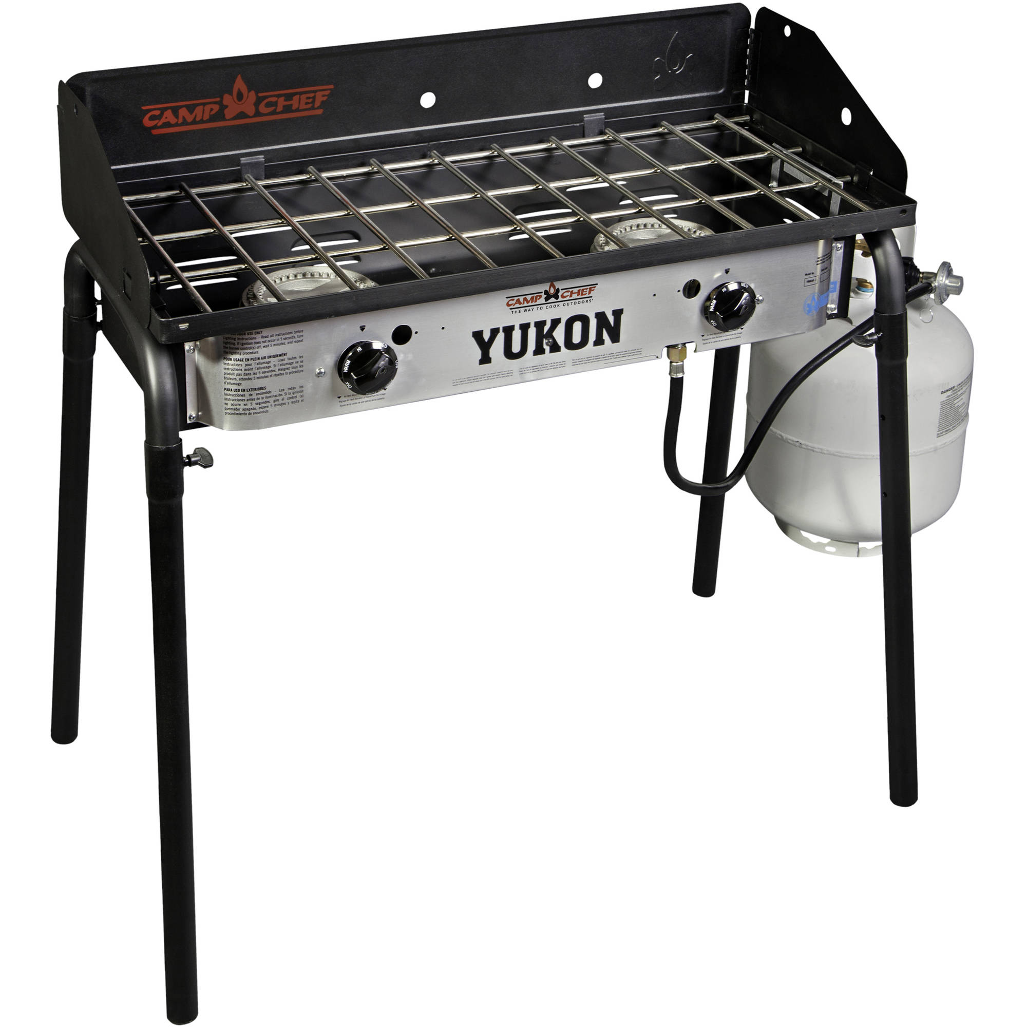 Camp Chef Yukon 60,000-BTU 2-Burner Camp Stove