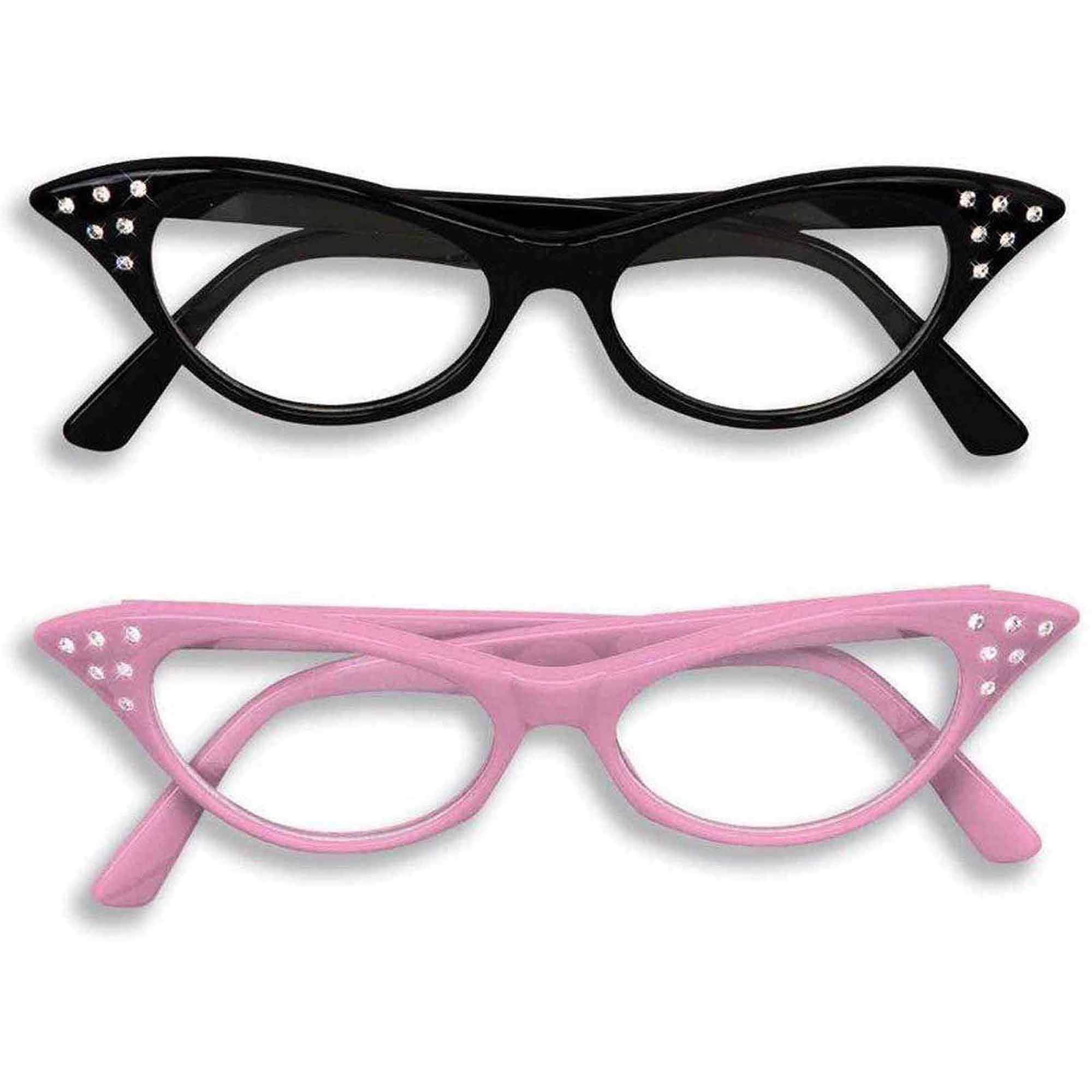 Cat's Eye Glasses Halloween Costume Accessory