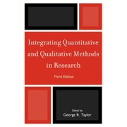 Integrating Quantitative and Qualitative Methods in Research, Third Edition (Paperback)