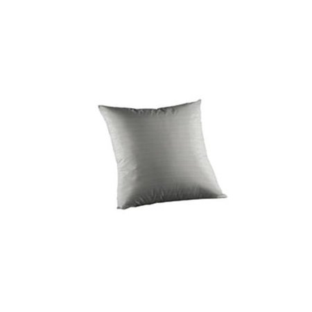 Patch Magic TPW265S Cream and White Gingham Checks, Fabric Toss Pillow 16 x 16 inch