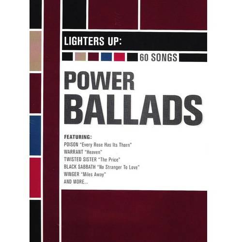 Lighters Up: Power Ballads (4 Disc Set)