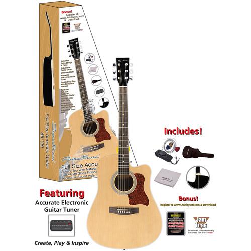 Kona K391 Parlor-Size Acoustic Guitar - Walmart.com