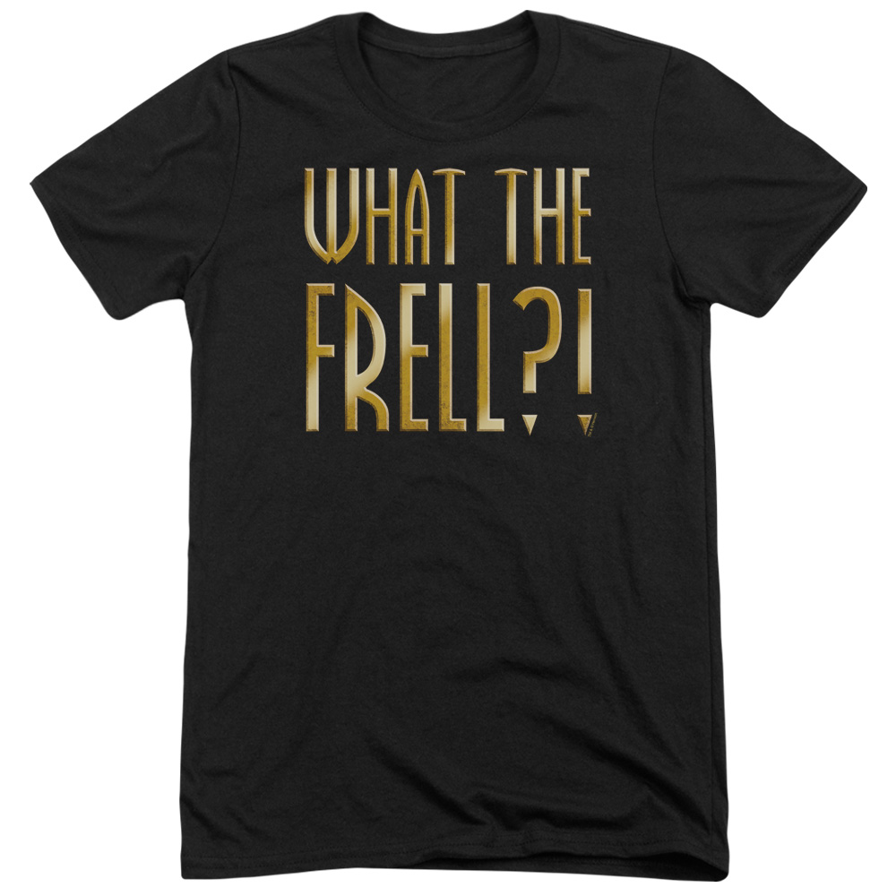 Farscape What The Frell Mens Tri-Blend Short Sleeve Shirt