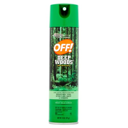 Off  Deep Woods Insect Repellent V 11 Ounces