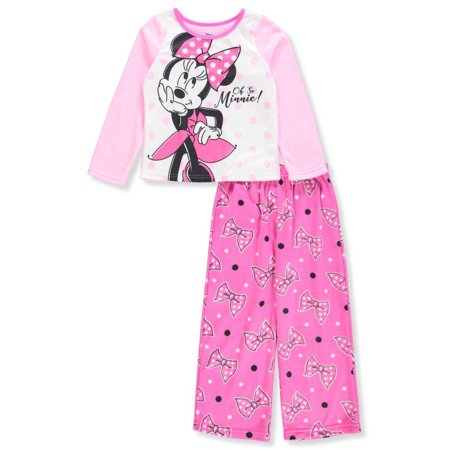 Pink And White Minnie Mouse (Disney Minnie Mouse Girls' 2-Piece)