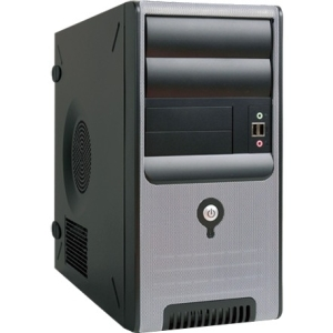 In Win Z583 Mini Tower Chassis with USB3.0 - Mini-tower - Black, Silver