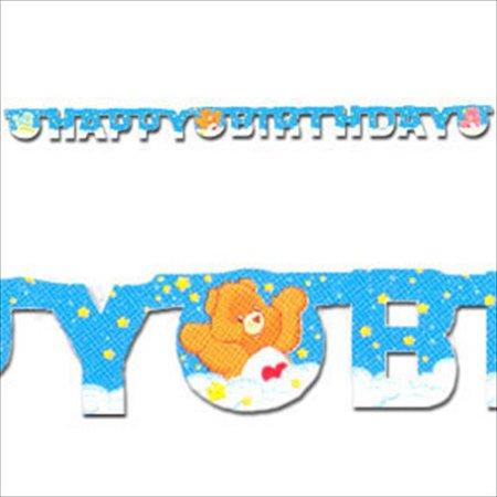 Care Bears Rainbow Happy Birthday Banner (1ct) ()