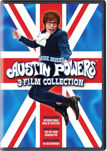 Click here to buy Austin Powers: 3 Film Collection by WARNER HOME ENTERTAINMENT.