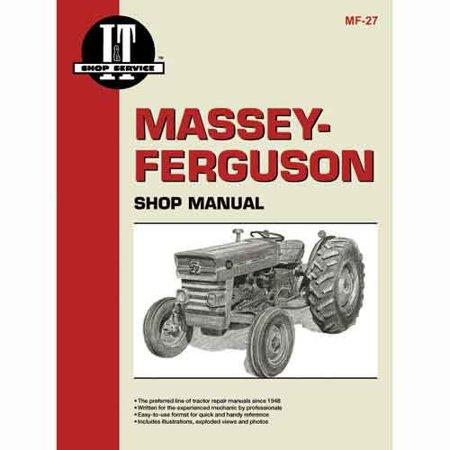 I&T Shop Manual , New, Massey Ferguson