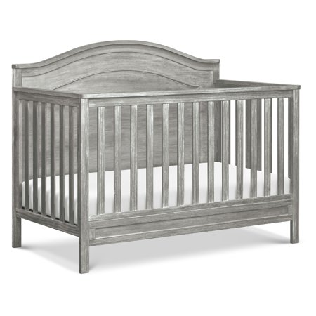 DaVinci Charlie 4-in-1 Convertible Crib in Cottage Grey Da Vinci Cradle Pad