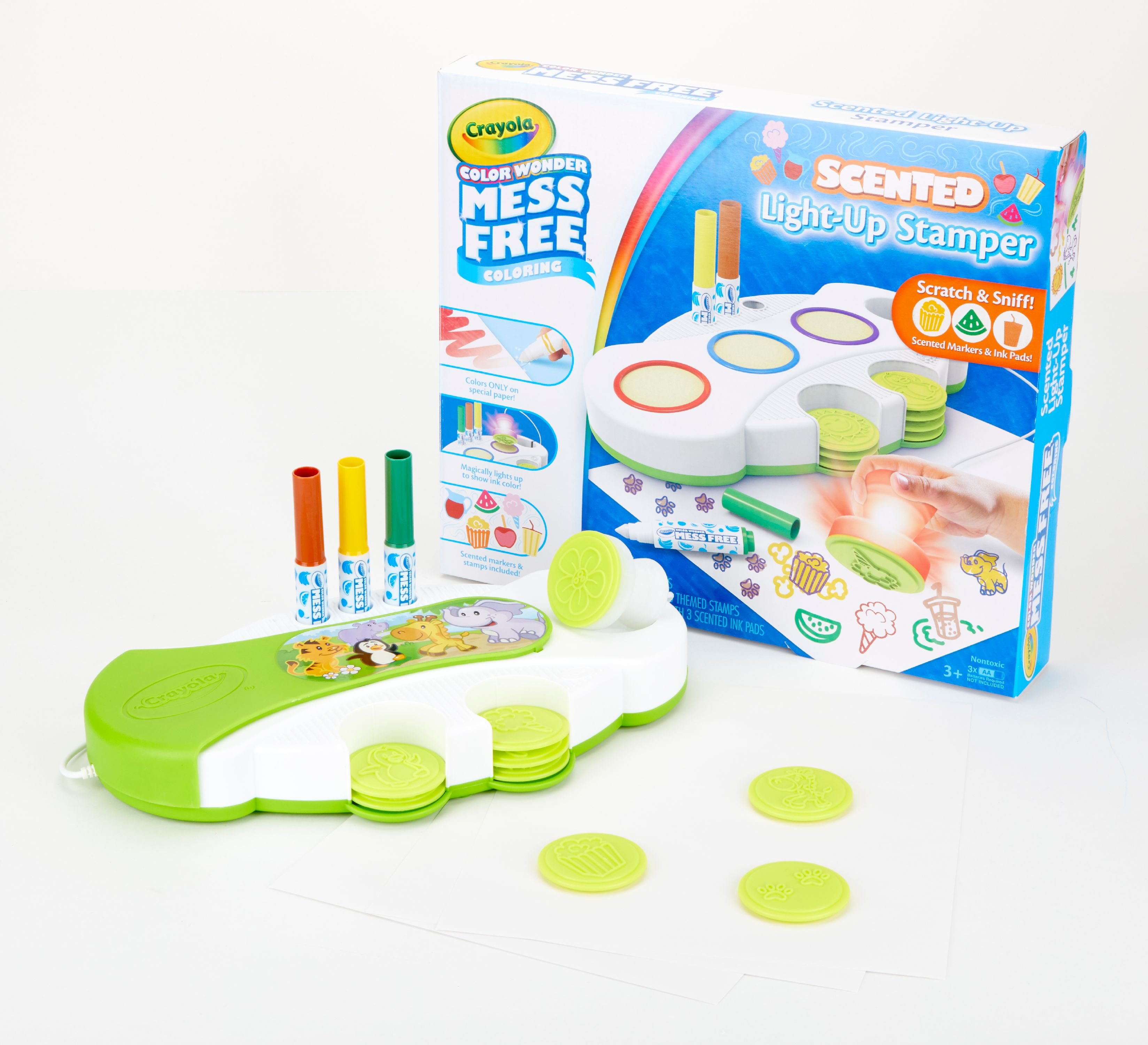 Crayola Color Wonder Scented Light Up Stamper Activity Kit