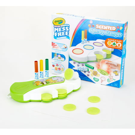 Crayola Color Wonder Scented Light Up Stamper with Scented Inks, Ages 3+ ()