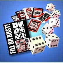 Fill or Bust Great Card and Dice Game - Toy - Family Fun For All Ages - Great Gift Idea - Perfect On Vacations, Family Game Night, Birthdays, Xmas