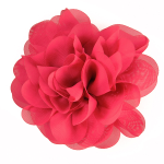 Expo Int'l Tina Fashion Flower Fabric Brooch Pin Hair Clip