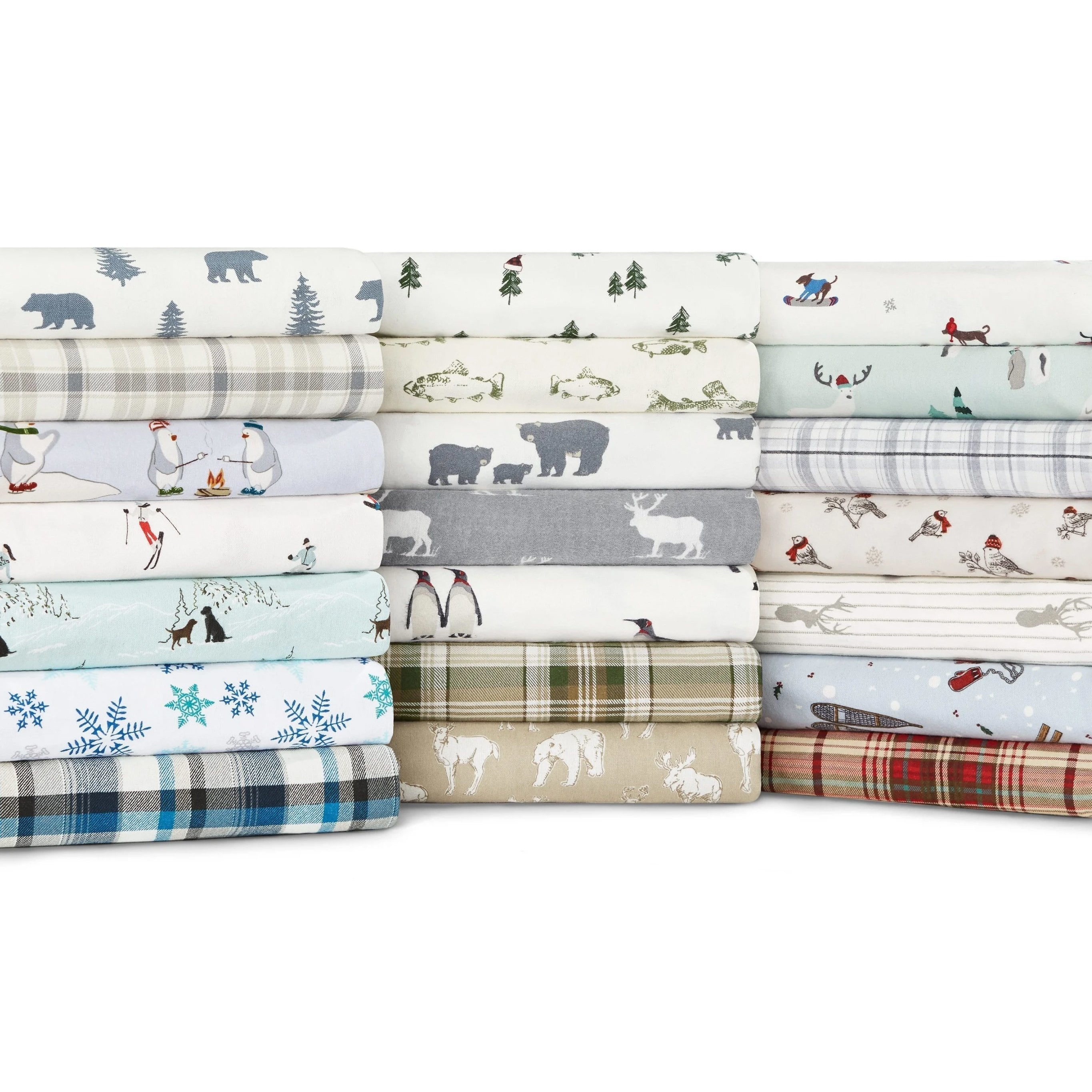 Eddie Bauer Cotton Flannel Sheet Set Walmart Com Walmart Com