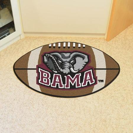 Ncaa Alabama Nylon Face Football Rug