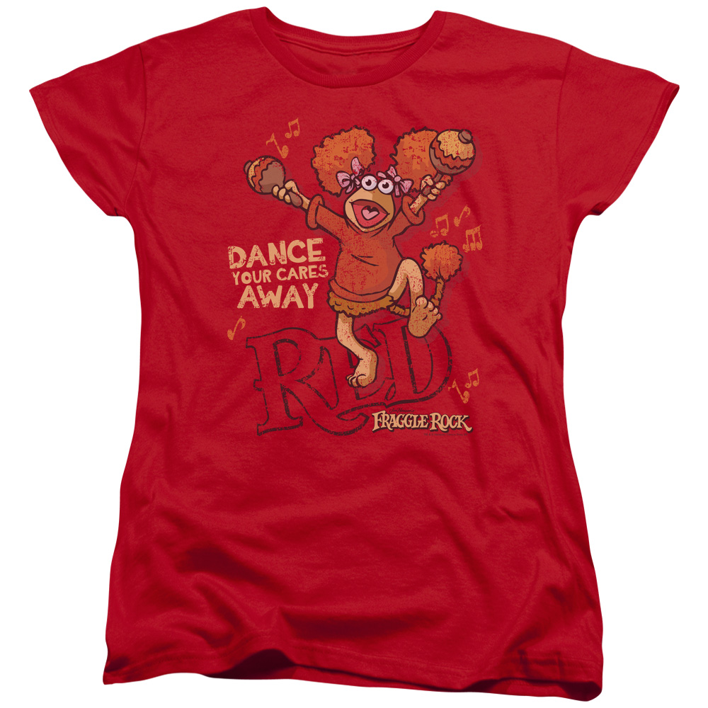 Fraggle Rock Dance Womens Short Sleeve Shirt