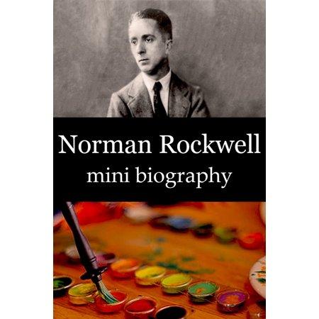Norman Rockwell Mini Biography - eBook - Norman Rockwell Halloween