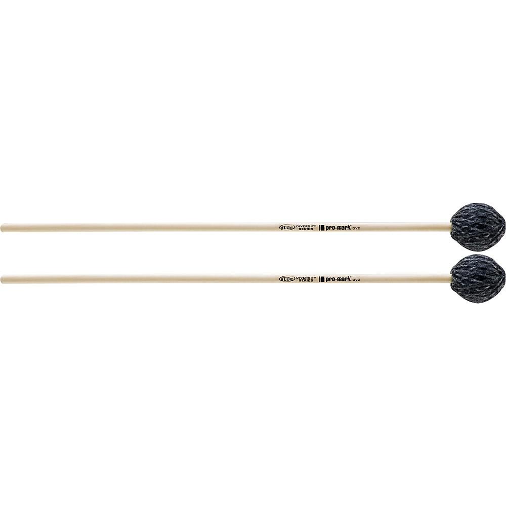 PROMARK System Blue Diversity Series Mallets DV2 Medium Marimba by ProMark