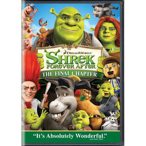 Shrek Forever After The Final Chapter Dvd Walmart Com Walmart Com