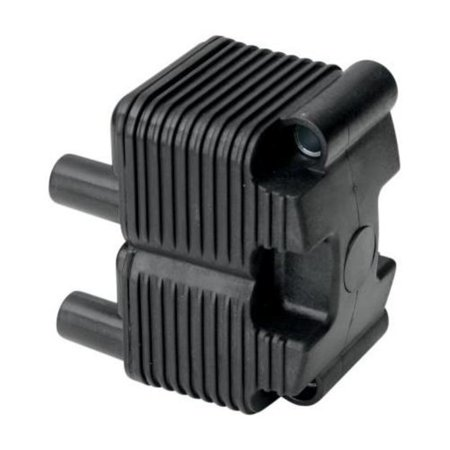 Drag Specialties 2102-0225 Single Fire Ignition Coil - 0.5 OHM - Black