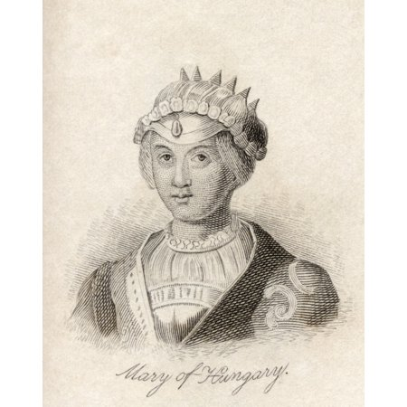 Mary Of Habsburg Also Called Mary Maria Or Marie Of Hungary Of Austria Of Castile Or Of Burgundy 1505 1558 Queen Consort Of Louis Ii Of Hungary And Bohemia From The Book Crabbs Historical Dictionary P