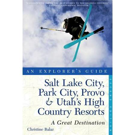 Explorer 39 S Guide Salt Lake City Park City Provo Utah 39 S High C