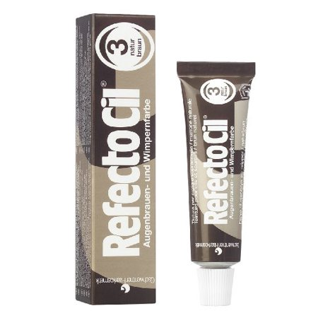 RefectoCil Cream Hair Dye (NATURAL BROWN) .5oz - Walmart.com