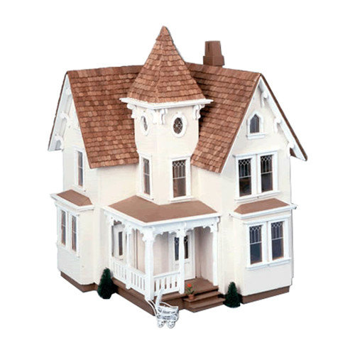 Greenleaf Fairfield Dollhouse Kit - 1/2 Inch Scale