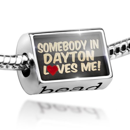 Bead Somebody in Dayton Loves me, Ohio Charm Fits All European Bracelets (Party Supply Dayton Ohio)