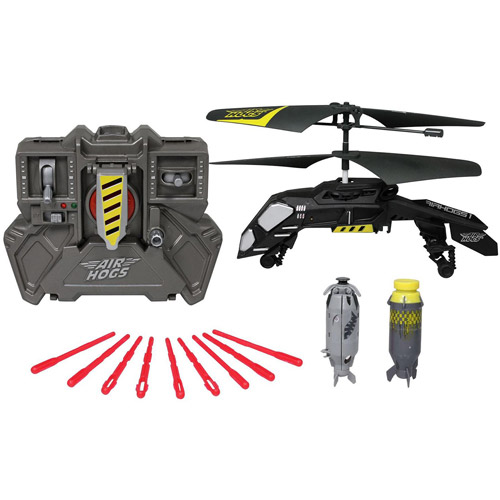 Air Hogs Remote-Controlled Megabomb Heli Special Edition Bomb Dropping Helicopter